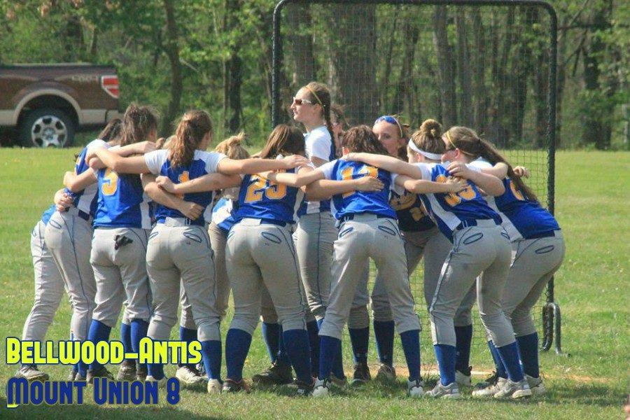 Bellwood-Antis overcame some sloppy play to down Mount Union in softball.