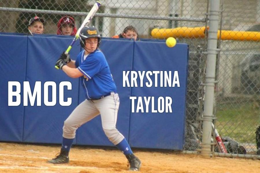 Krystina Taylor has helped BA offensively in a big way this season.