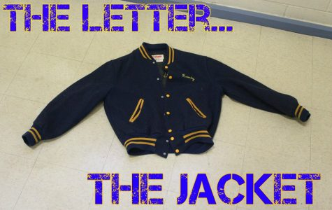 The letter and the jacket.  The club member vs. the athlete.