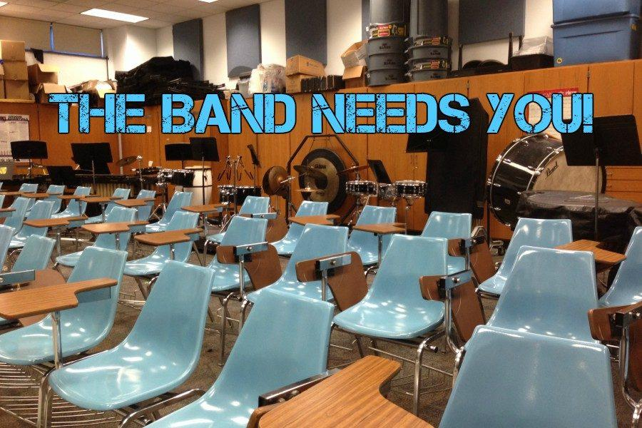The band needs your help!