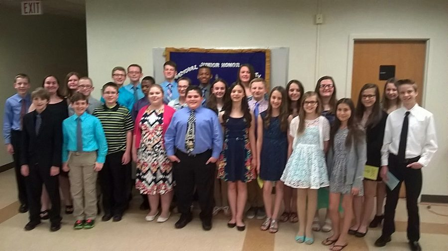 NJHS inducted its new members recently.