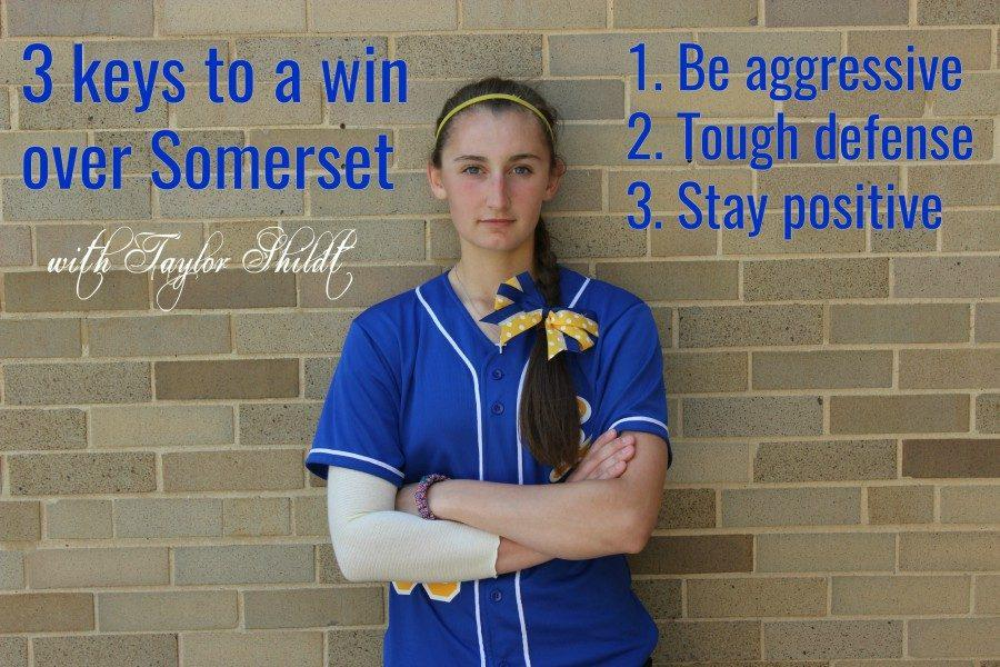 Taylor Shildt starts at pitcher today for Bellwood-Antis.
