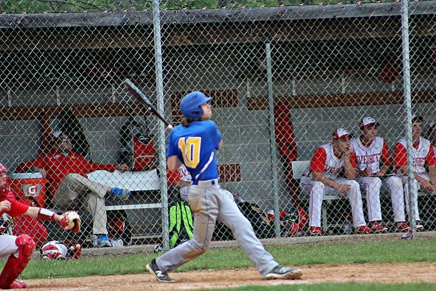 Joe Padula connects with the ball.