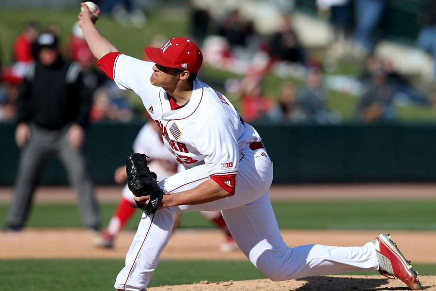Chad Luensmann has gone from B-A's ace starter to the one of the top relievers in the Big Ten in one year.