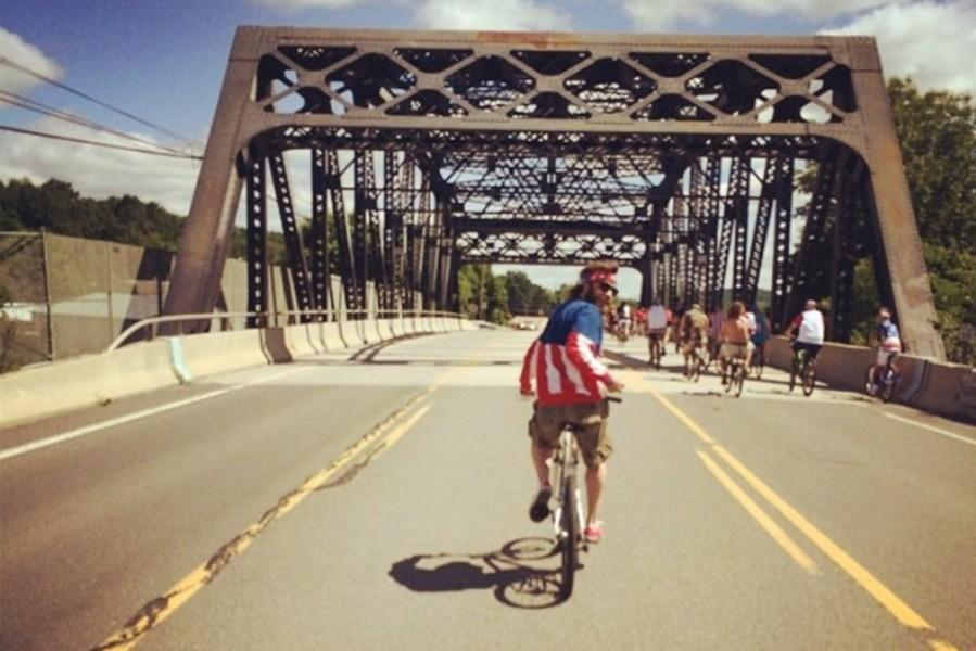 Freedom Ride is the coolest and most patriotic way to make your way across the Grazierville Bridge.