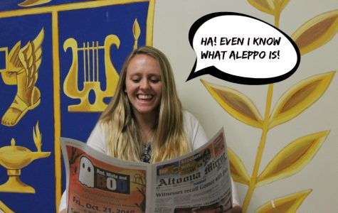 Kara Engle may only be in tenth grade, but even she keeps up with international events.