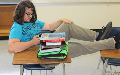 Eli Vaglica may be a typical senior: always procrastinating