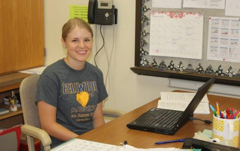 Mrs. Cunningham, who graduated from B-A in 2010, is the new high school English teacher.