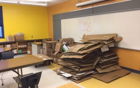 Old cardboard boxes and discarded gadgets will be the building blocks for students in the Myers Makerspace.