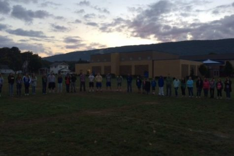 One hundred students attended See You at the Pole.