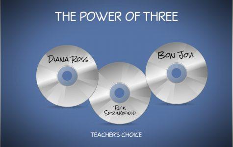 It's teacher's choice for the Power of Three.