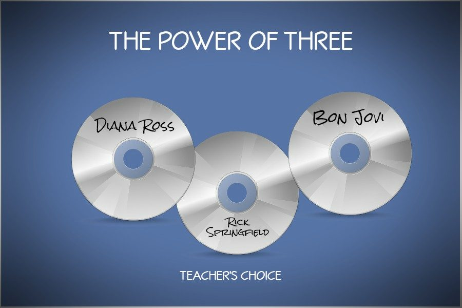 Its teachers choice for the Power of Three.