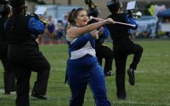 A major role in the marching band