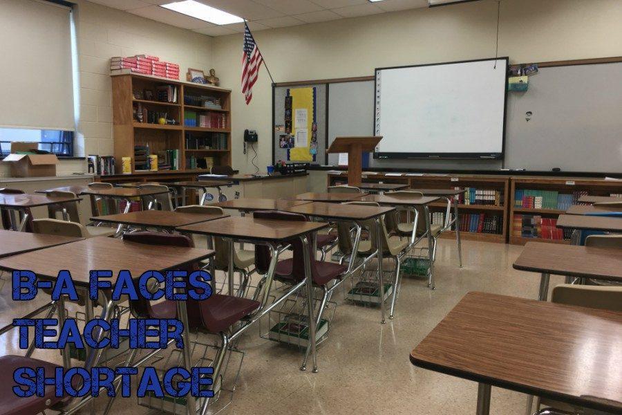 Recently, BASD has noticed the devastating teacher shortage in the US.