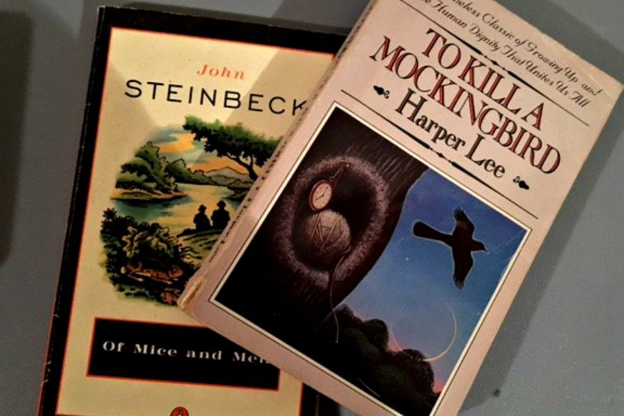 You'll read Of Mice and Men and To Kill a Mockingbird before you graduate high school, so pay attention in class.