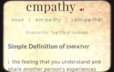 Sometimes we need to have a little empathy rather than a competition for sympathy.