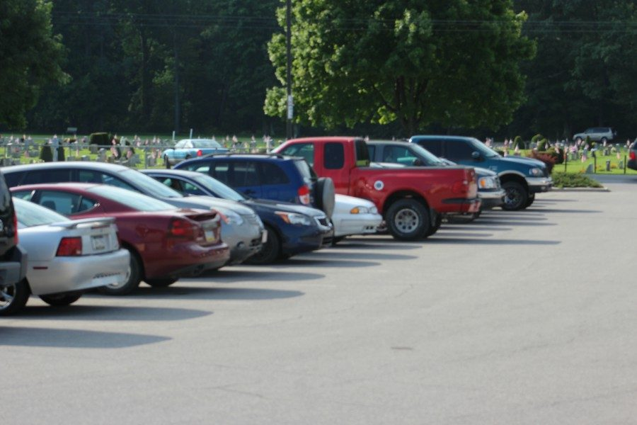Those who park in the lot without a pass, must do so at his/her own risk.