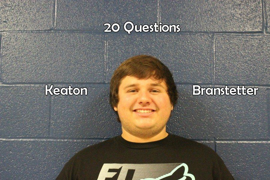 20 questions: with Keaton Branstetter