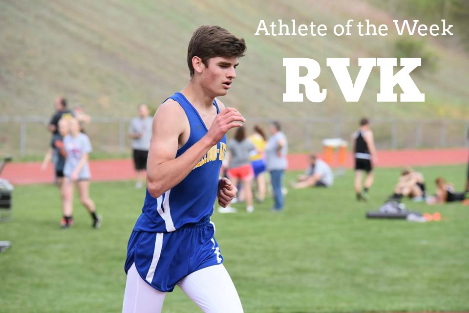 Robert VanKirk is having quite a year on the cross country trails.