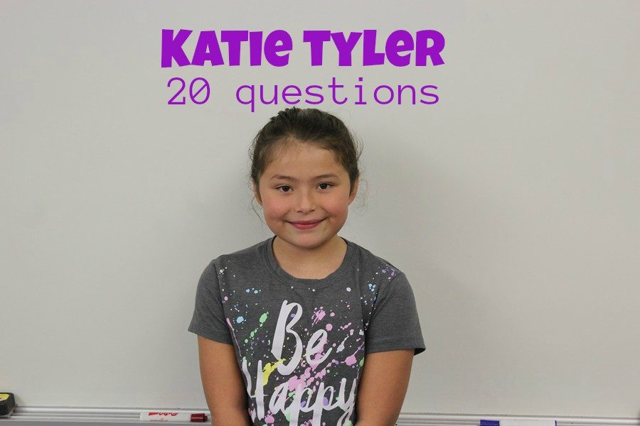 Katie Tyler has 20 answers for our 20 questions.