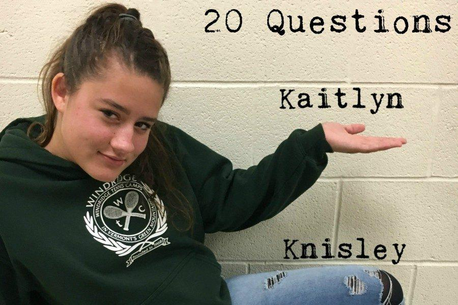 20 Questions with Kaitlyn Knisley