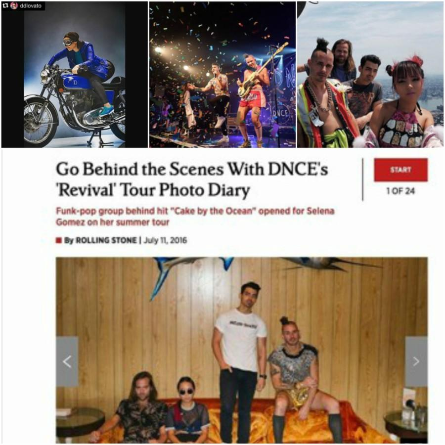Nathan and Josh have worked with some of the rising stars in the music industry, including Demi Lovato and Joe Jonas. During DNCE's last tour, Nathan shot a photo gallery that was featured in Rolling Stone magazine.