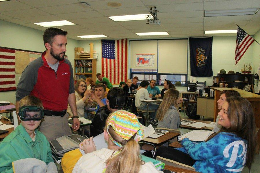 B-A civics teacher Mr. Matthew McNaul thinks a required civics test to graduate would force students to pay attention to government.