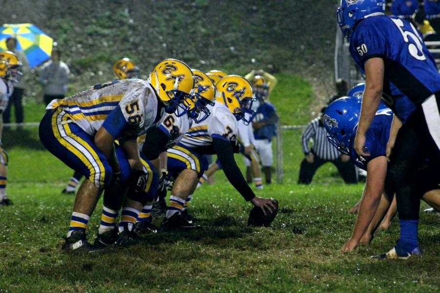 B-A won the battle of the trenches in a big win over Williamsburg on the road Friday.