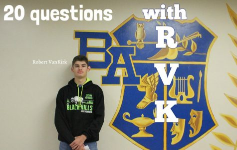 20 questions with Robert VanKirk