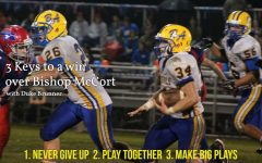 3 Keys to a win over McCort