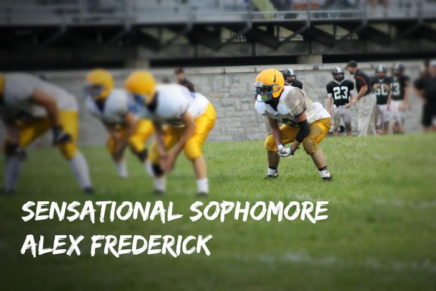 Alex Frederick is a Bellwood-Antis tri-athlete.