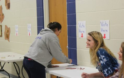 Bellwood-Antis students participate in mock election