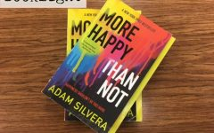 More Happy Than Not, a novel written by Adam Silvera, was added to Mr. Naylor's book collection the beginning of this school year.