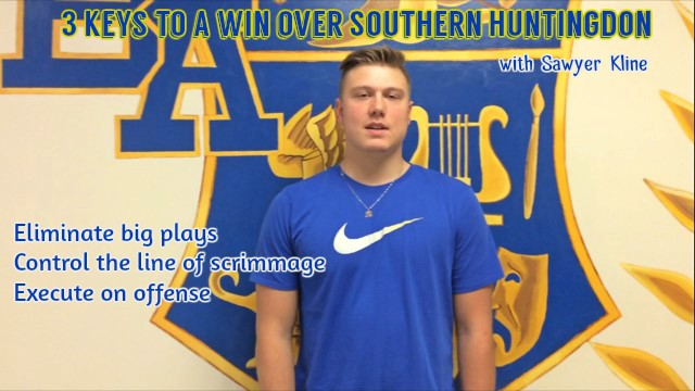 Sawyer+Kline+has+three+keys+to+a+win+over+Southern+Huntingdon.