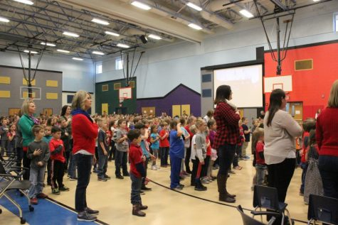 Fourth graders adopt wolves