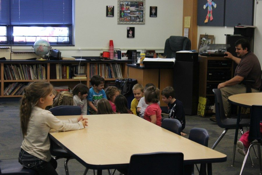 Kindergarten students at Myers are now into a solid routine as the second nine weeks begins.