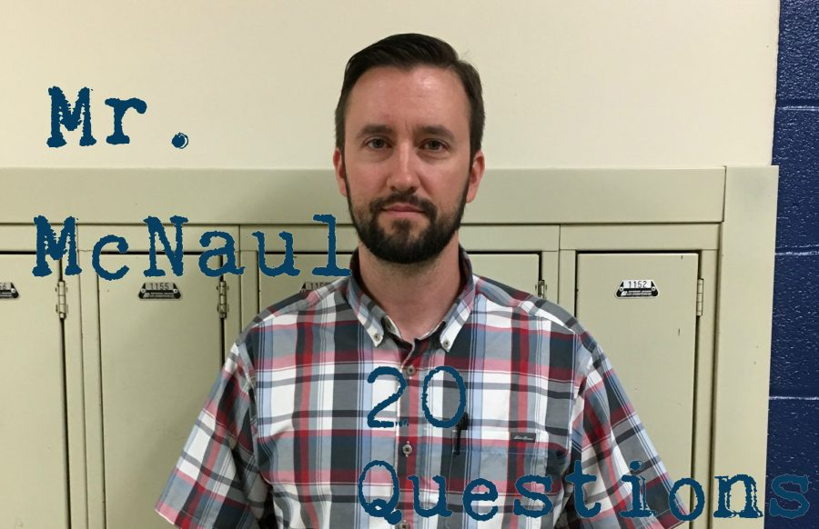 20 Questions with Mr. Mcnaul