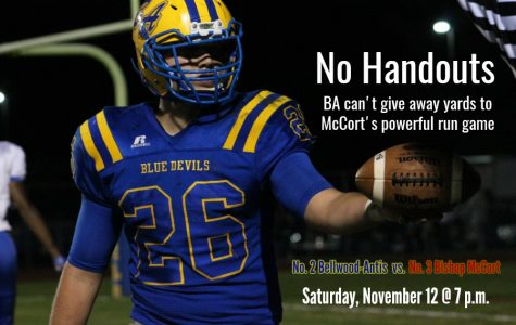 B-A will face a tough running attack in semifinals