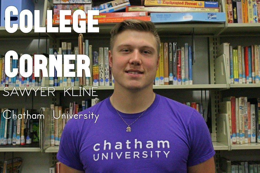 Sawyer Kline will play baseball at Chatham.