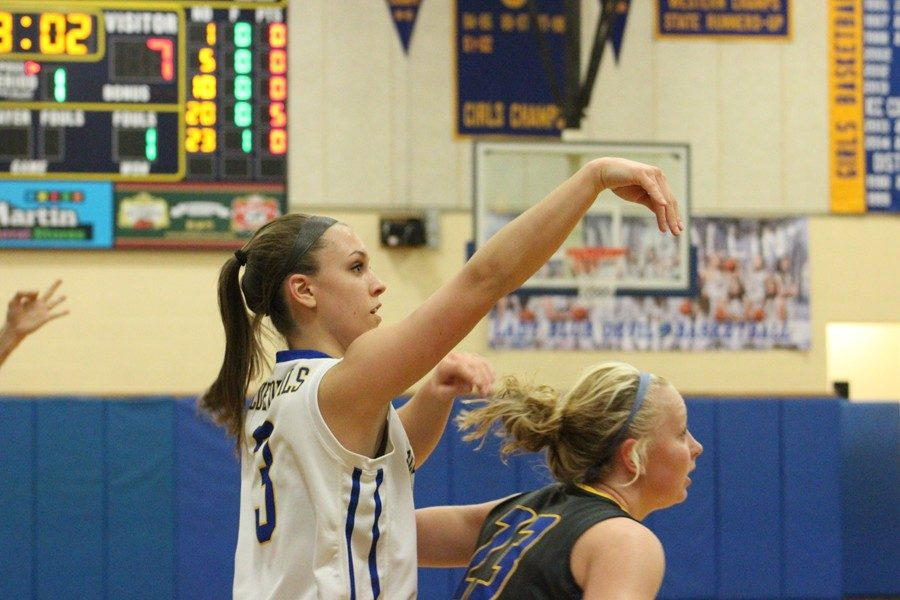 Karson Swogger led BA last night with 35 in a win over West Branch.