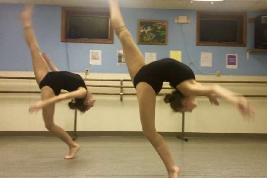 Jamyson Focht and Izzy Holes have seen their passion for dancing pay off with a summer scholarship.