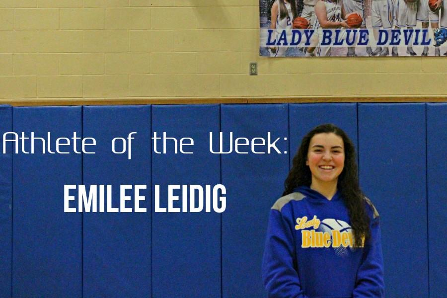 Emilee Leidig is one of several impact freshmen on the basketball team.