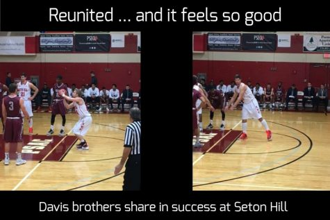 Davis brothers enjoying success at Seton Hill