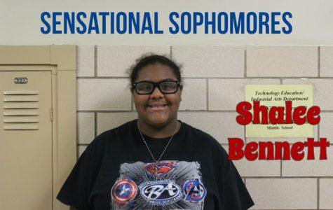 SENSATIONAL SOPHOMORE: Shalee Bennett