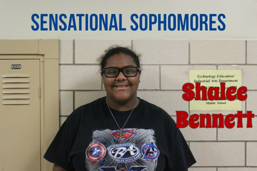 Shalee Bennett is a sensational sophomore you should know about.