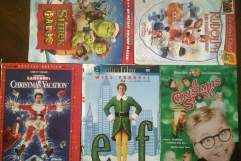 The Favorite Christmas movies we all like.