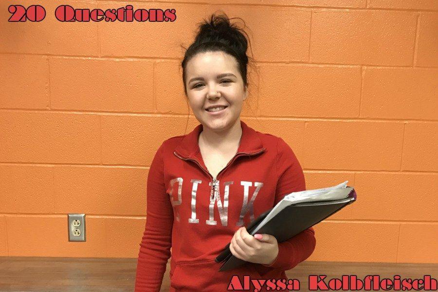 20 Questions with Alyssa Kolbfleisch