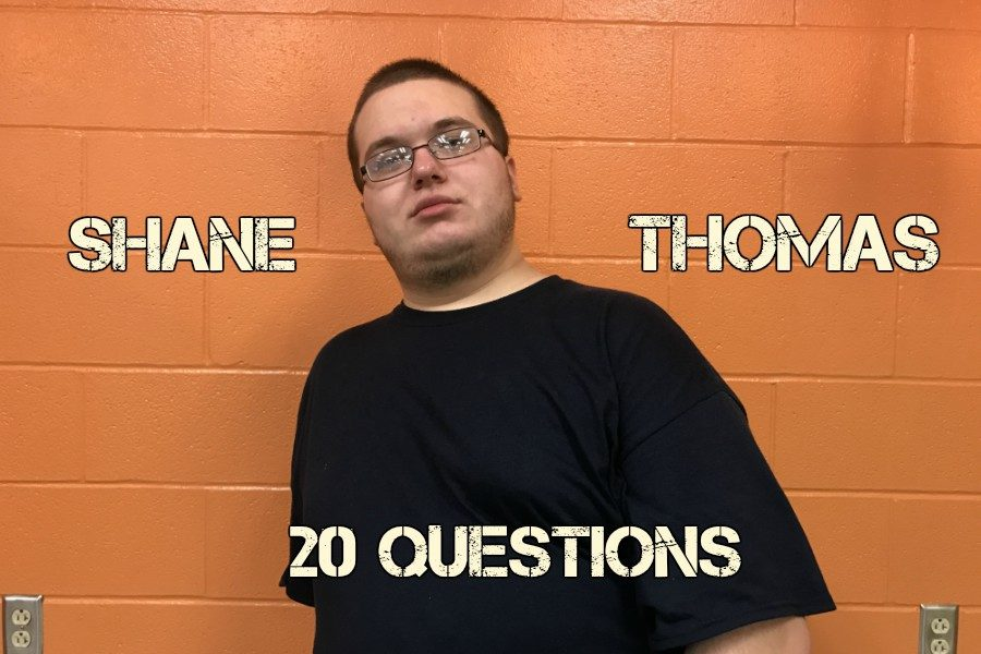 20 Questions with Shane Thomas