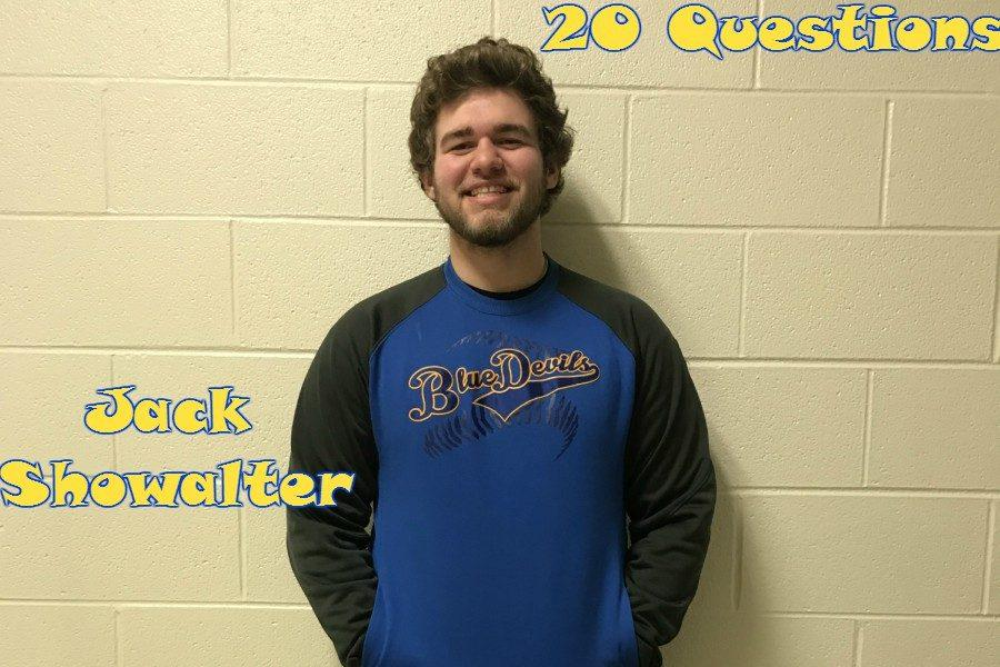 20 Questions with Jack Showalter