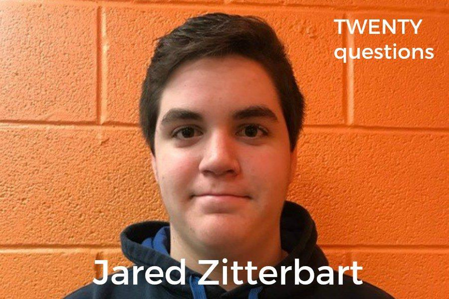Jared Zitterbart has some unique answers to random question!